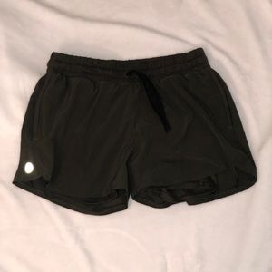 Dark Green Running Shorts